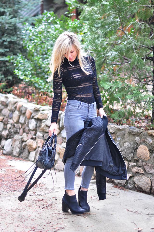 turtleneck lace bodysuit_grey jeans