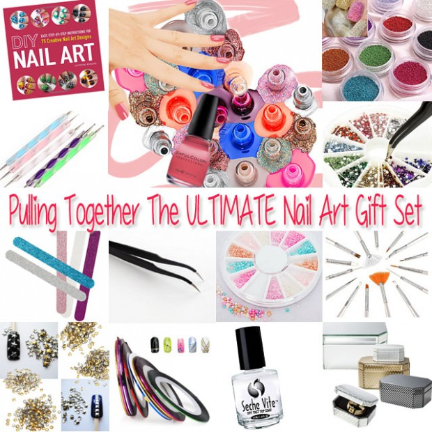 What youll need to make the ultimate diy nail art gift set what youll need to make the ultimate diy nail art gift set prinsesfo Images