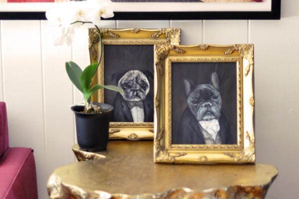 victorian dog portraits