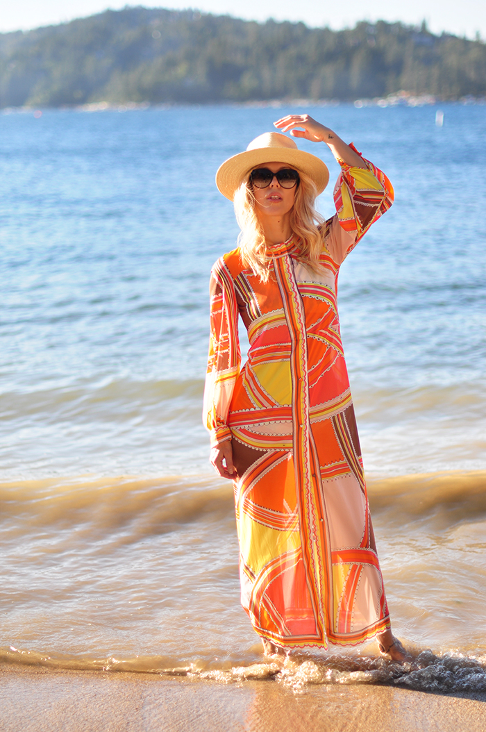 vintage pucci coverup robe - emilio pucci formfit rogers
