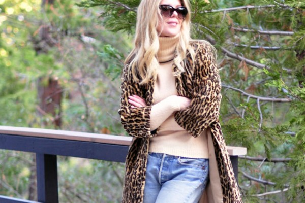 vintage levis-vintage leopard coat-1