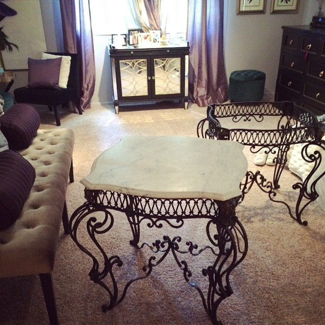 vintage marble table tops