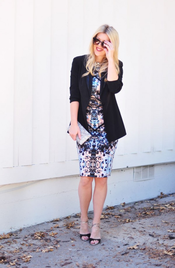 Business party outfit for professional event