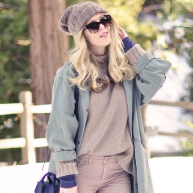 winter cozy outfit